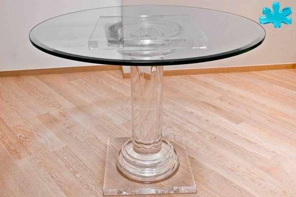 Tavolo Tondo Plexiglass.Foto Tavoli Da Pranzo Di Eldorado Plexiglas 444549