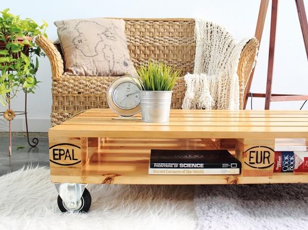 Foto tavolino da salotto con pallets di marilisa dones - Mobili con i bancali ...
