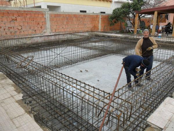 Foto telaio in ferro per fondamenta di melchiorre 348714 habitissimo - Fondamenta casa ...