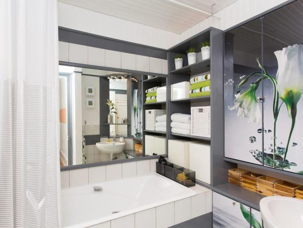 Foto trasformare il bagno spendendo poco di rossella - Trasformare ripostiglio in bagno ...