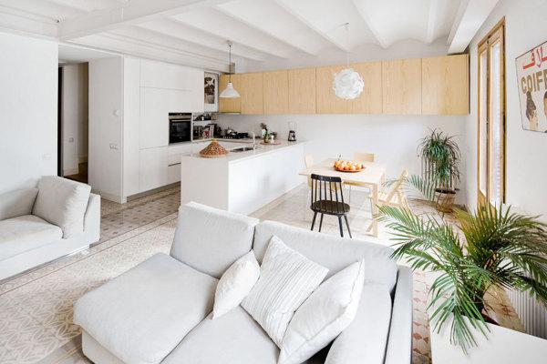 Foto uno spazio unico per il salotto la sala da pranzo e for Sala da pranzo e soggiorno insieme