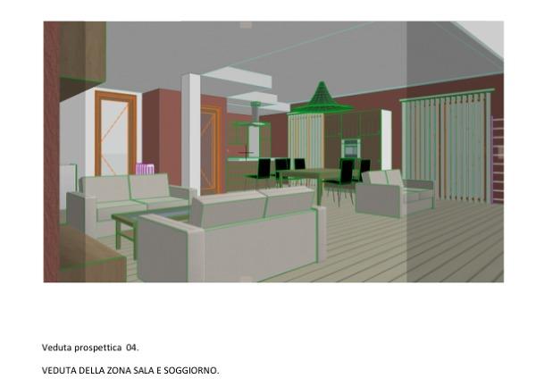 Foto: Veduta Sala e Cucina 2 di Arch. Vecchio Verderame ...