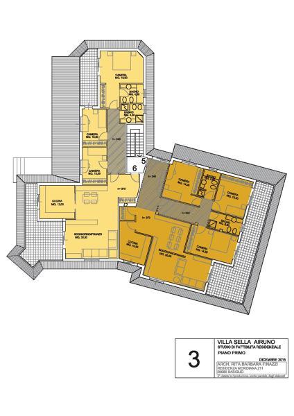 Foto villa airuno soluzione 2 piano di rinnovo locali for Piano di progettazione di edifici commerciali