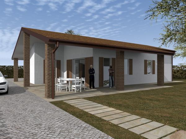 Foto villa unifamilare classica classe a di stilenatura for Casa classica srl