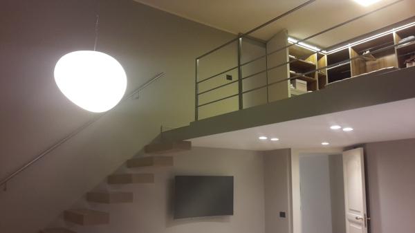 Foto Vista Della Cabina Armadio Su Soppalco Di Arcdesign