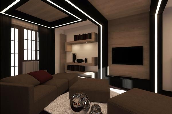 Foto interior design torino studioayd di architetto luca for Decoracion piso 1 habitacion
