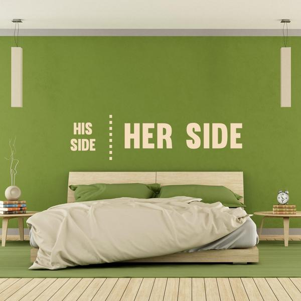 Foto: Wall Stickers Camera da Letto di Marilisa Dones #347509 ...