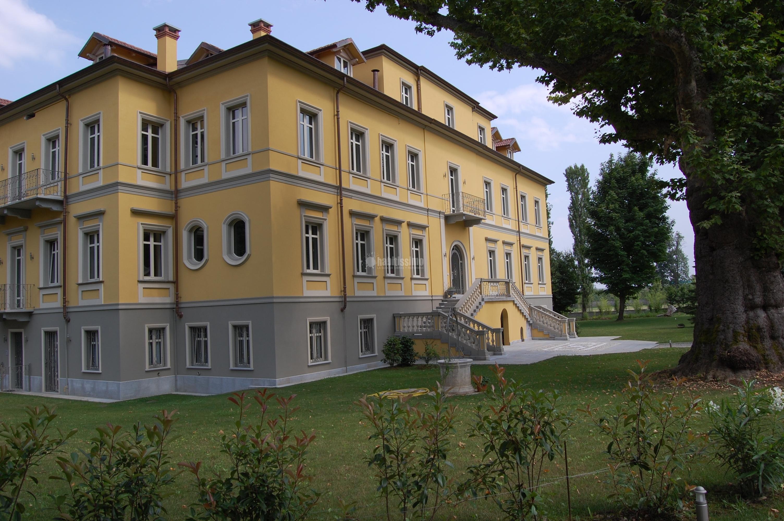 Progetto di recupero villa d 39 epoca idee ristrutturazione for Ville stile classico