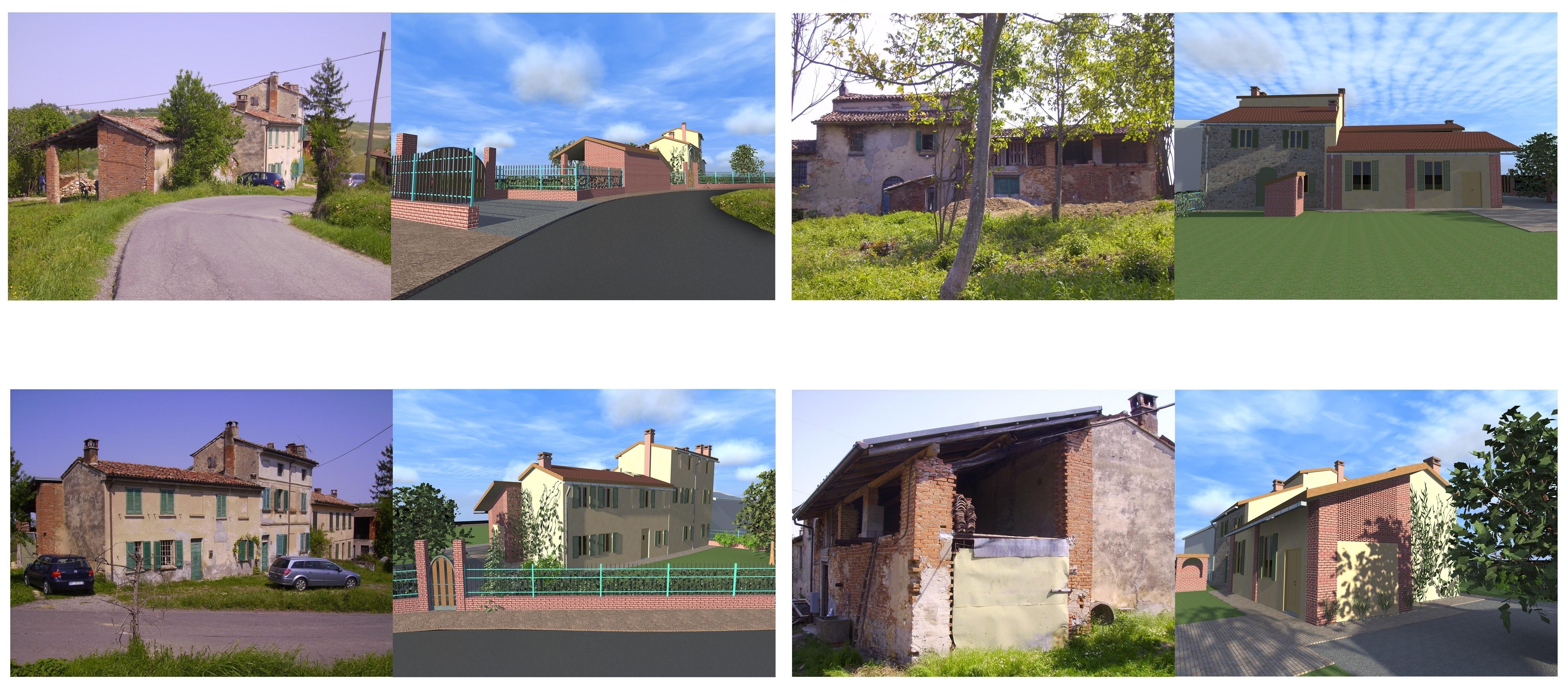 Progetto per recupero casa di campagna nell 39 oltrep - Progetto casa campagna ...