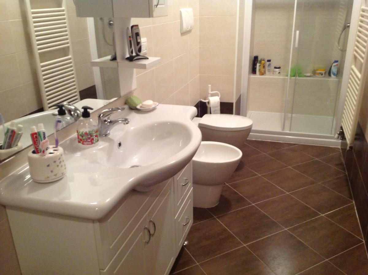 Progetto bagno con super doccia progetti ristrutturazione bagni for Bagno con doccia