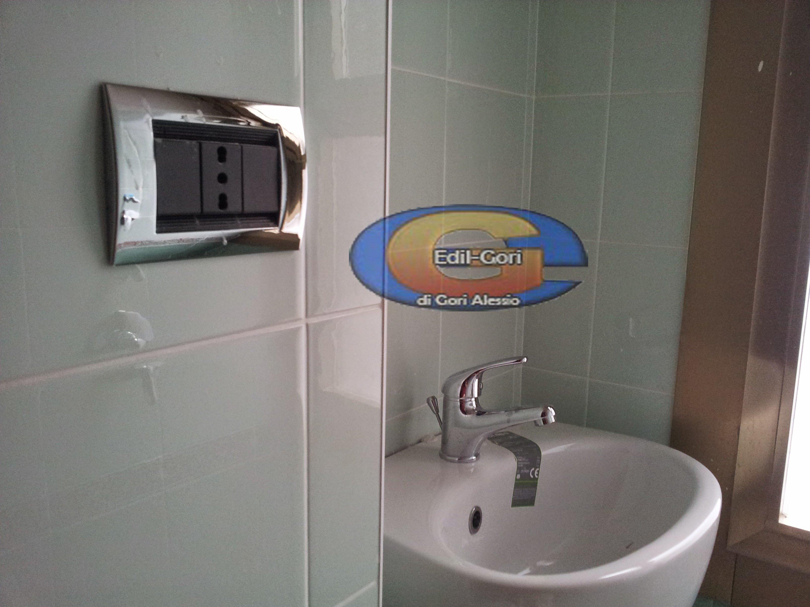 Progetto ristrutturazione di piccolo bagno di servizio a - Progetto ristrutturazione bagno ...
