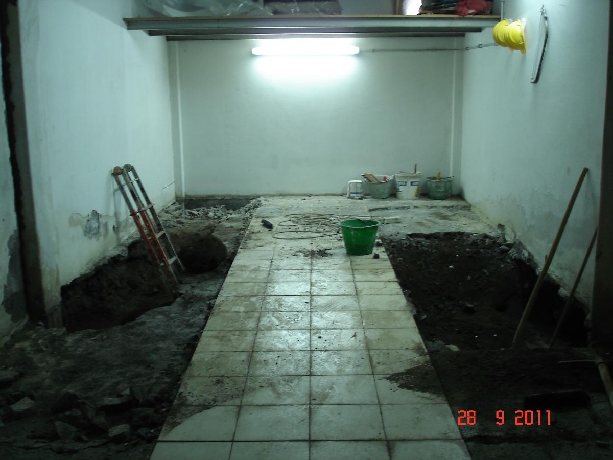 Progetto consolidamento statico di corpi garage e for Idee di piano di garage