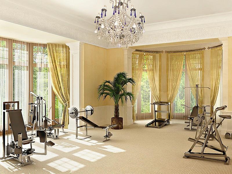 Come arredare una palestra in casa idee interior designer - Piccola palestra in casa ...