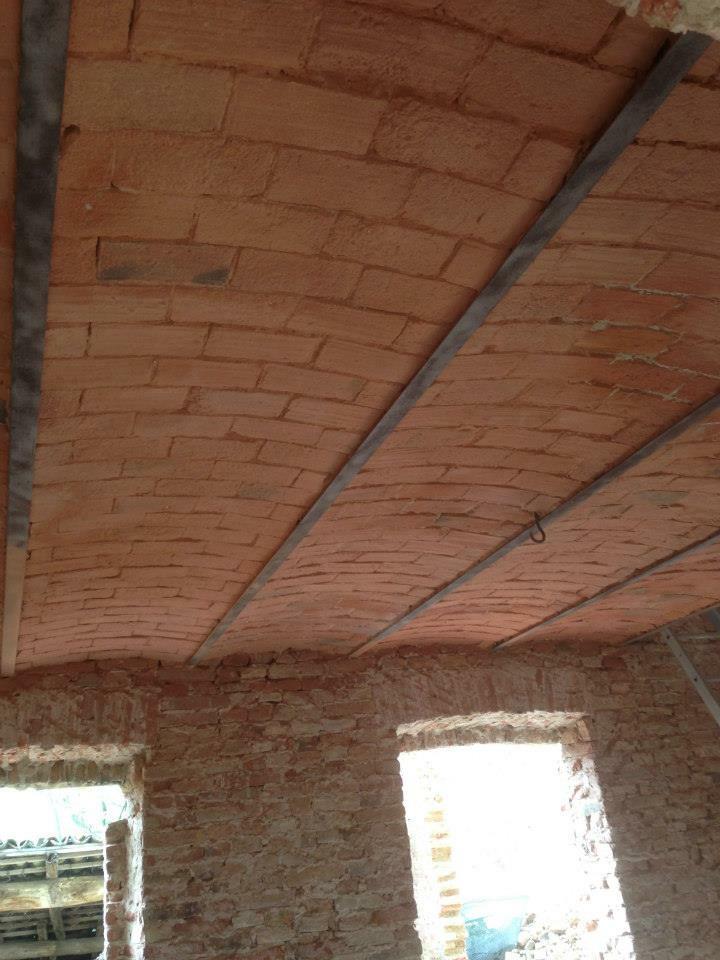 Progetto Sabbiatura Soffitto a volte a Pavia (pv)  Idee Ristrutturazione Casa