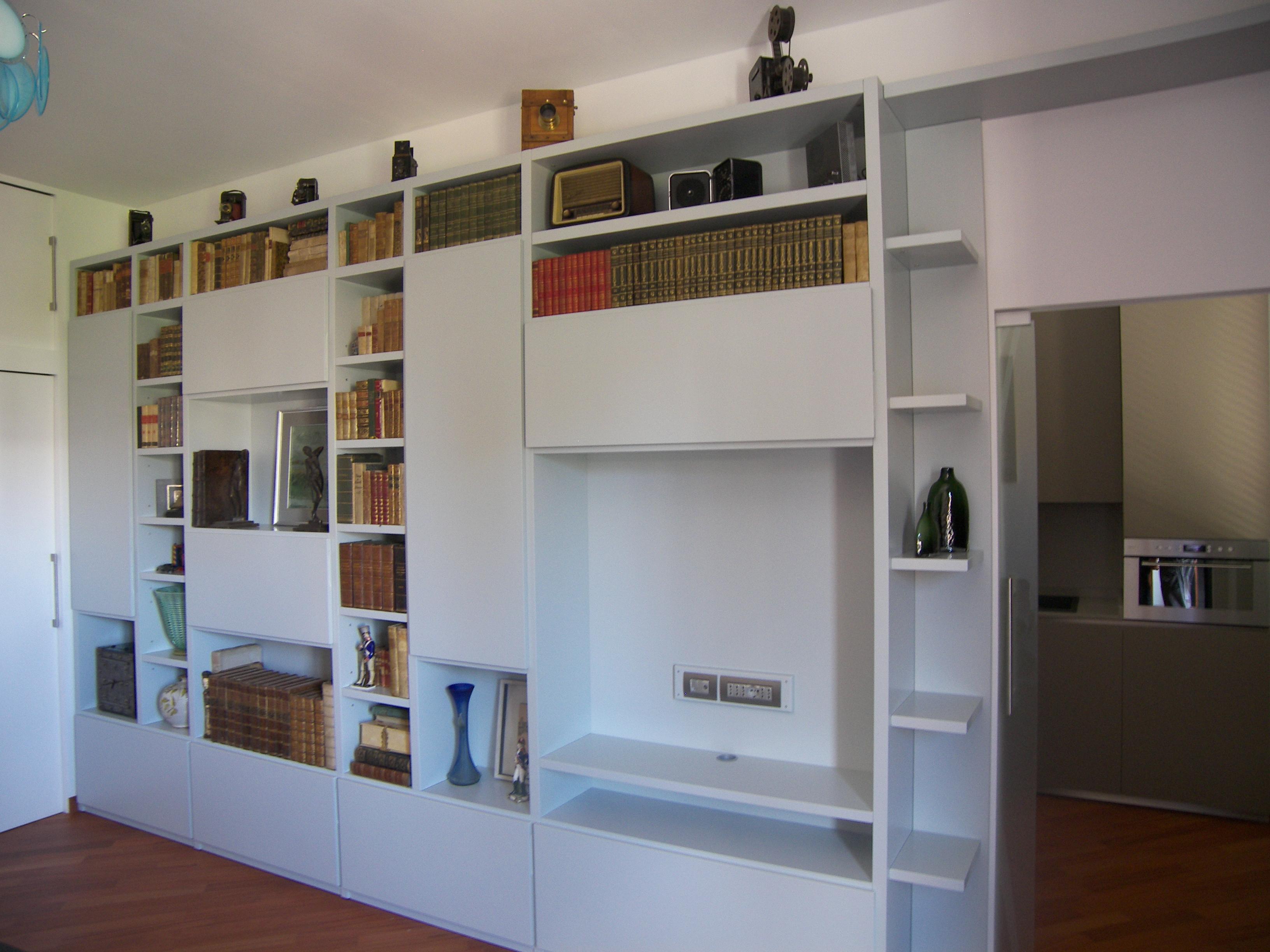 Perfect mobili in cartongesso per soggiorno comorgnet for libreria salotto zen with in - Libreria salotto e soggiorno ...