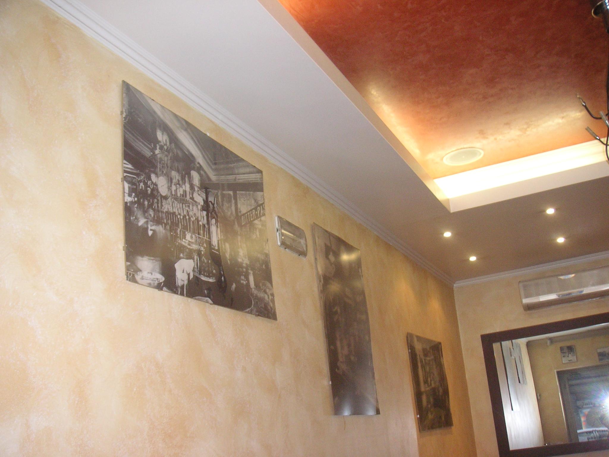 Progetto di pitture decorative di gran pregio casa dei for Progetti di casa dei sogni