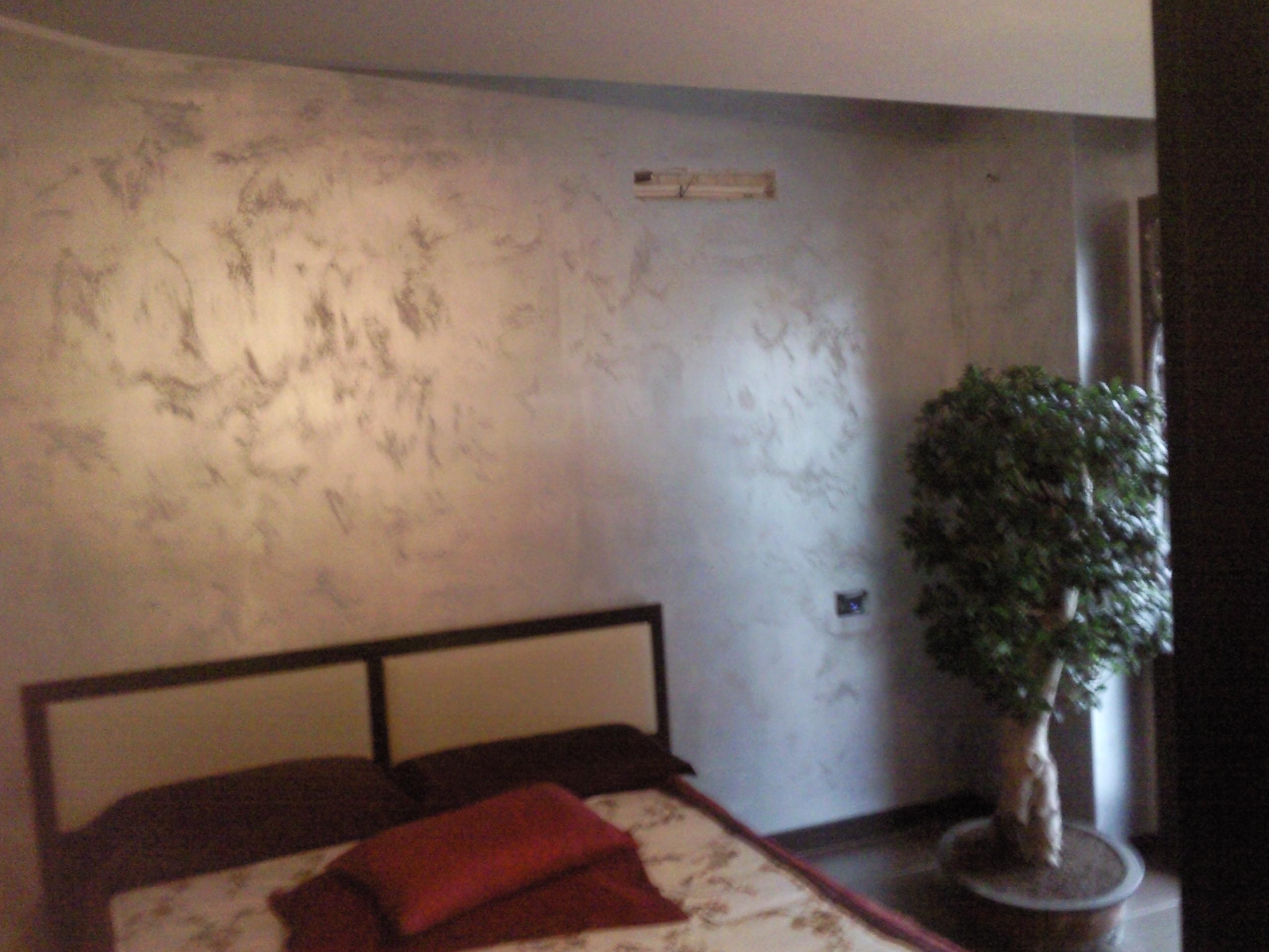 Progetto di pittura decortiva di gran pregio effetto - Progetto camera da letto ...