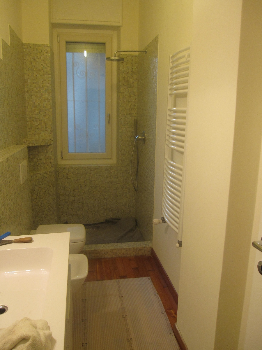 Progetto bagno con mosaico bisazza e piatto doccia filo - Piastrelle moncalieri ...