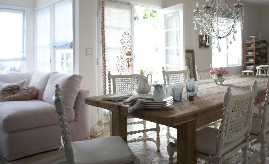Come Arredare il Salotto In Stile Shabby Chic  Idee Interior Designer