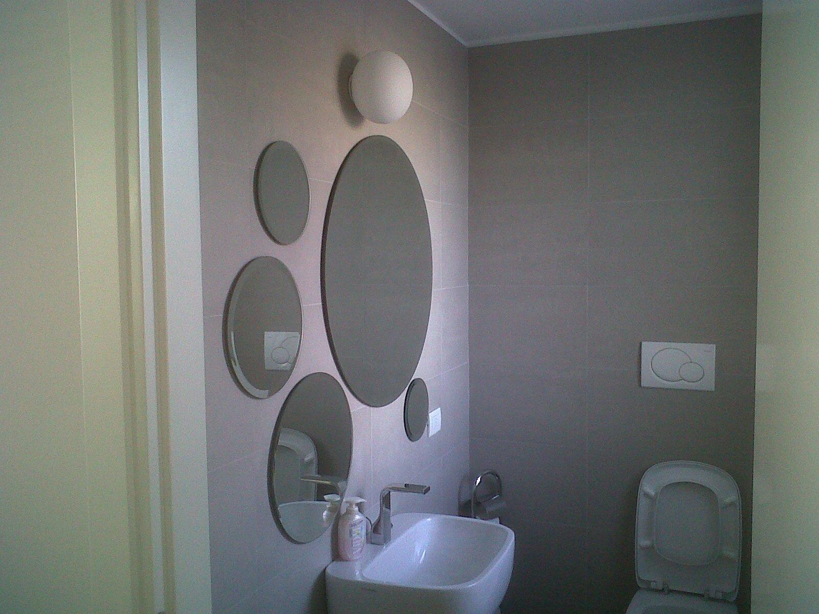 Progetto realizzazione specchi bagno ufficio progetti vetrai - Specchi da bagno prezzi ...