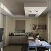 Abbassamento in Cartongesso studiato per nascondere i diffusori lineari in cucina