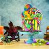 Allestimento festa di carnevale