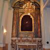 Altare di santa Caterina nella chiesa di Santa Maria del SS. Rosario in Castellammare di Stabia (NA) dopo il restauro