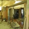 Fase lavori di demolizione e apertura in breccia per realizzazione nuova portafinestra