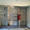 costruzione struttura parete in cartongesso