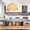 Foto: cucina con isola colorata