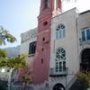 Facciata posteriore chiesa di Santa Maria del SS. Rosario in Castellammare di Stabia (NA) prima del restauro