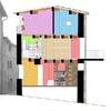 Fotomontaggio della sezione del progetto