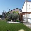 giardino esterno con giuggioli secolari