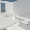 il progetto della nuova zona living