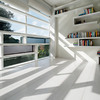 Foto: interior design horizontal white