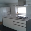 L'isola della cucina in mansarda