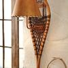 lampada con sci antichi