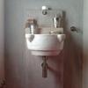 lavabo monoblocco scolpito a mano