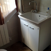 Lavatoio con vasca in ceramica