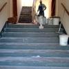 Lavorazione sui gradini