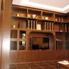 libreria classica in massello di castagno