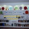 Libreria in cartongesso con faretti Milano