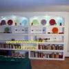 Libreria in cartongesso decorata Milano