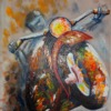PANNELLO per BLINDATA mod. MOTOCICLETTA 10HP