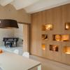 parete attrezzata legno