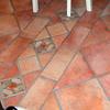 pavimento in gres con decori