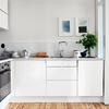 Piccola cucina bianca