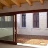 Piccolo cortile interno nato dall'accorpamento di due edifici