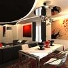 progetto sala da pranzo studio ayd torino