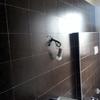 pulizia approfondita delle pareti con  igienizzante e vaporetto